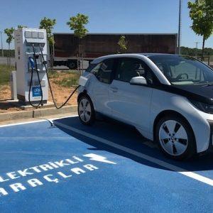 Enerjisa EV charging station