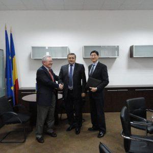 Romania MOH Secretary General Gheorghe Sarb
